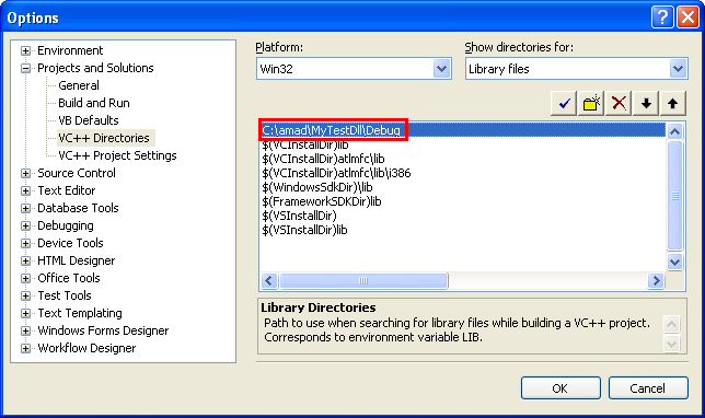 Using the Load-Time Dynamic Linking (DLL) Windows OS C