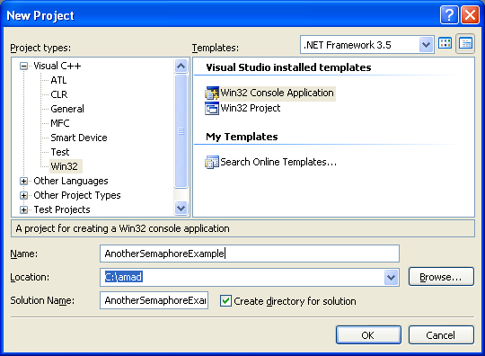 Another Windows sysnchronization Semaphore object Win32 and C ...
