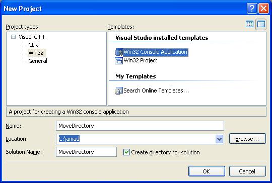 create a directory c++