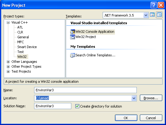 how to open environment variables in win 7